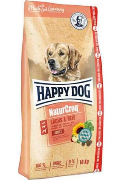 Happy Dog Naturcroq Somon Etli Köpek Maması 15 Kg+3 kg