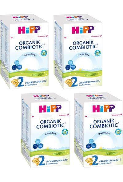 Hipp 2 Organik Combiotic 800 gr Devam Sütü 4 'lü