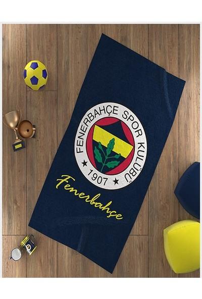 Fenerium Fenerbahçe Arma Logo Plaj Havlusu 75