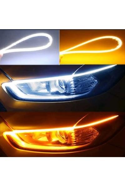 Boğaziçi Kayar LED -Far Kaşı -Sinyal Özellikli Far Üstü 60 cm Kayar Led-