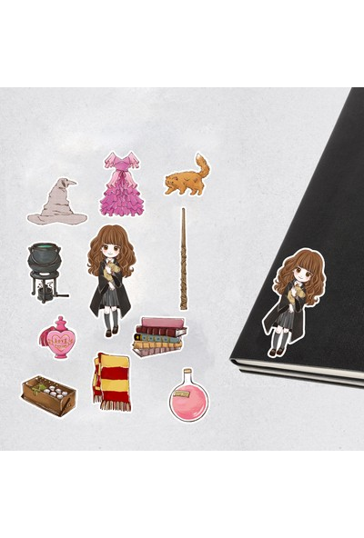 Warner Bros Harry Potter Wizarding World Hermione Granger Icons Çıkartma Seti