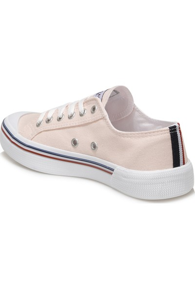 U.S. Polo Assn. Penelope 1Fx Pudra Kadın Havuz Taban Sneaker