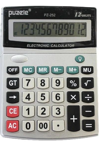 Puzzle PZ-252 Hesap Makinesi