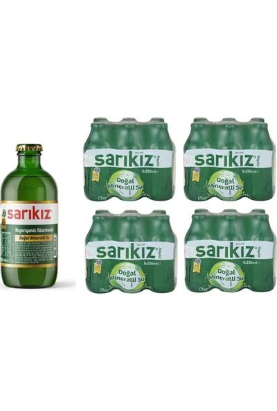 Sarıkız Sade Soda 250 ml x 24'lü (Alaşehir)