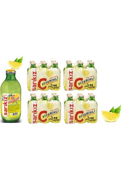 Sarıkız Limonlu Soda 250 ml x 24'lü