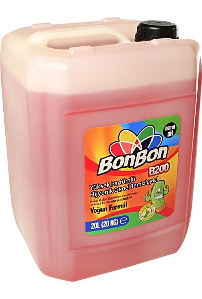 """Bonbon Bonbon® B200K Yüksek Parfümlü Hijyenik Genel Temizleyici 20L """"bonibon®"""""""