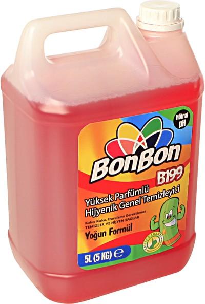 """Bonbon Bonbon® B199K Yüksek Parfümlü Hijyenik Genel Temizleyici 5l """"bonibon®"""""""