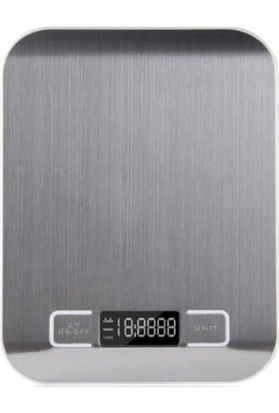 Sas Çelik Mutfak Terazisi - 5 kg