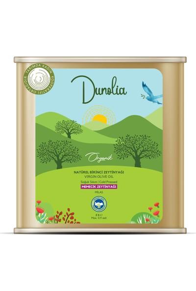 Dunolia Tarımda Kadın Dunolia Organik Natürel Birinci Memecik Zeytinyağı 2lt (Soğuk Sıkım)