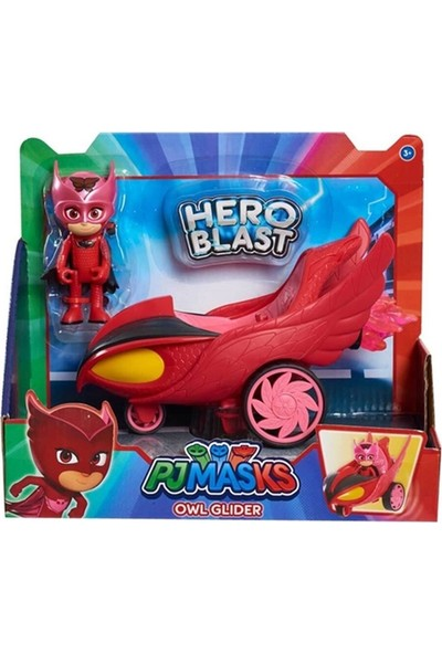 Pj Masks Pijamaskeliler Hero Blast Araçlar Owl Glider