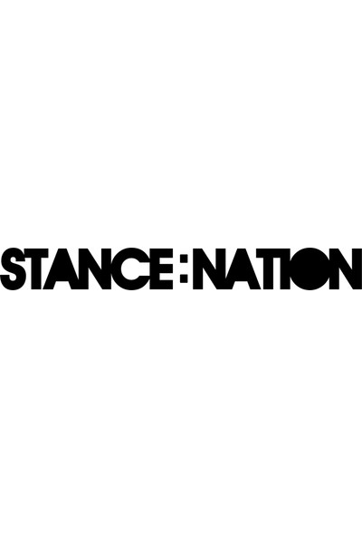 Quart Stance Nation Sticker, Oto Araba Sticker