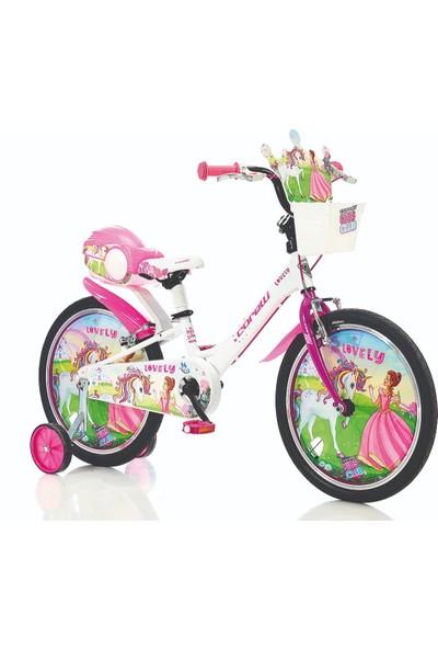 Corelli Lovely 16 Çocuk Bisikleti Beyaz-Pembe -101221