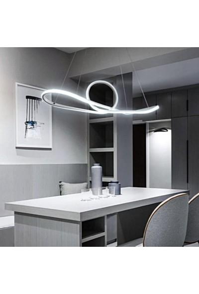 Burenze A+ Modern Sarkıt Concept Ürün Kademeli 3 Renk Krom Power LED Avize BURENZE57