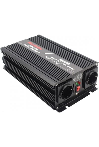 Max Extra LRM1200 Inverter Dönüştürücü 1200W
