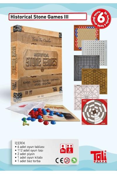 Toli Games Historical Stone Games-3 (Tarihi Taş Zeka Oyunu)