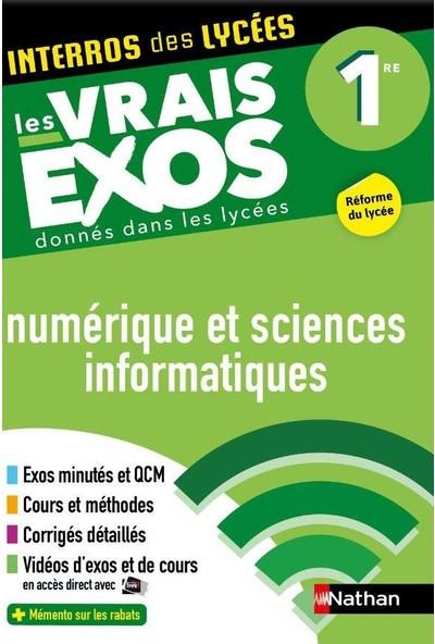 Interros des Lycées Numérique et Sciences Informatiques (NSI) 1re - Les vrais exos - Stephane Pasquet