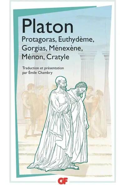 PROTAGORAS- EUTHYDEME- GORGAS -MENE - Platon