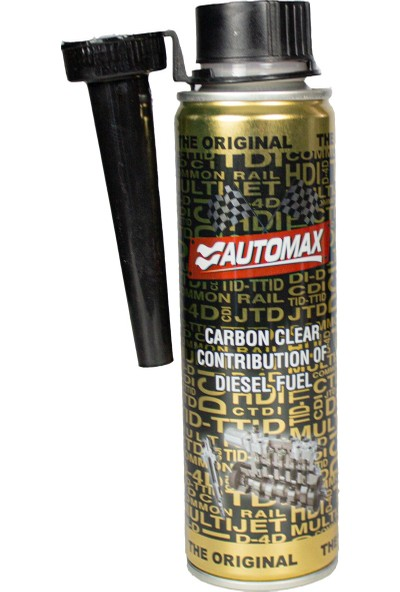 Automax Karbon Temizleyici Dizel Yakıt Katkısı