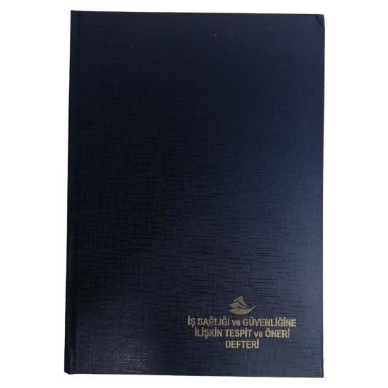 Armat İş Sağlığı Güvenliği Tespit- Öneri Defteri 50 Sayfa - Otokopili Nolu Ciltli