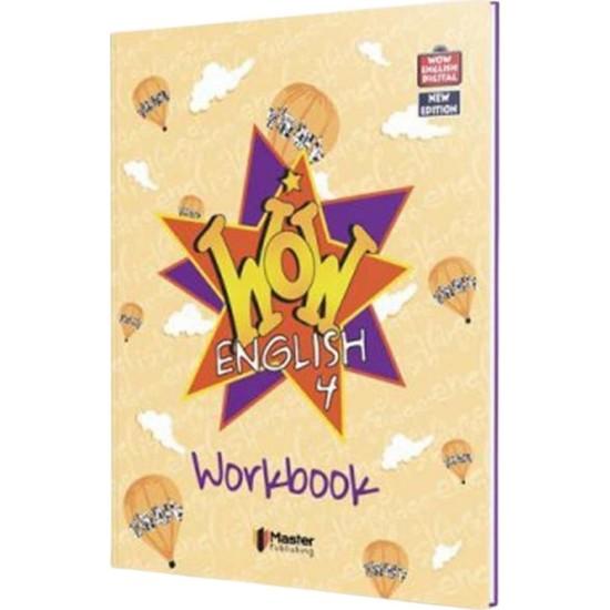 Master 4. Sınıf Wow English Practice Book & Workbook