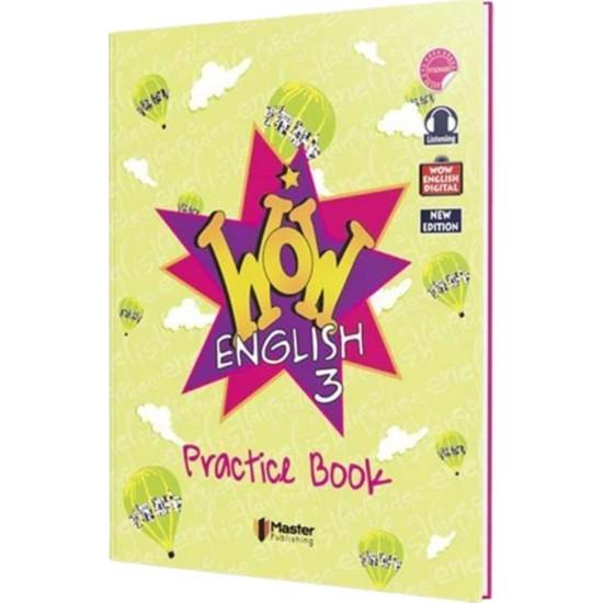 Master 3. Sınıf Wow English Practice Book - Workbook