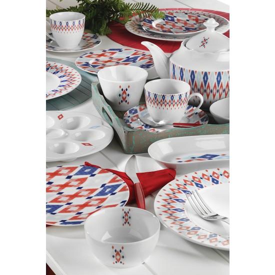 Kütahya Porselen 41 Parça 10505 Desen Kahvaltı Takımı