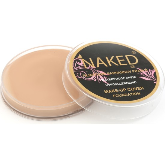 Naked Make-Up Cover Foundatıon