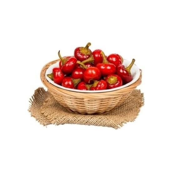 İdea Bahçe Acı Yakantop Süs Biber Tohumu 390 tohum