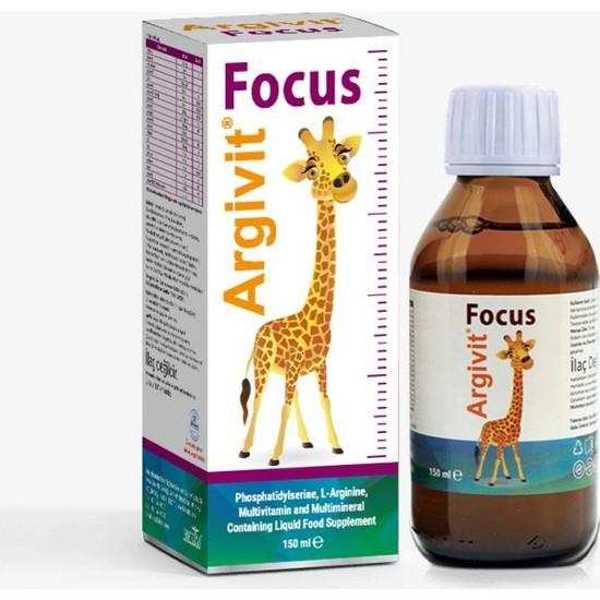 Argivit Dikkat Eksikliğine Yardımcı Argivit Focus Şurup 150 ml