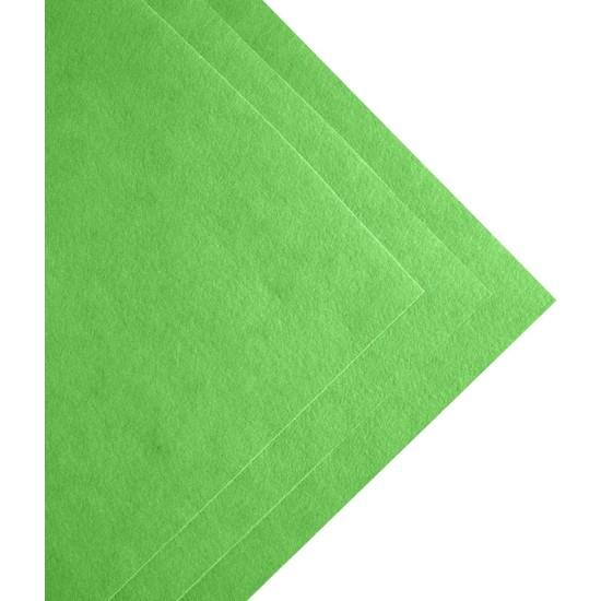 Toptan Keçe Yaprak Yeşilii Ince Keçe 1 Metre (100X100 Cm), Yaprak Yeşili Keçe