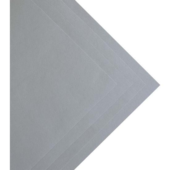 Toptan Keçe Gri Ince Keçe 1 Metre (100X100 Cm), Gri Renkli Hobi Keçe
