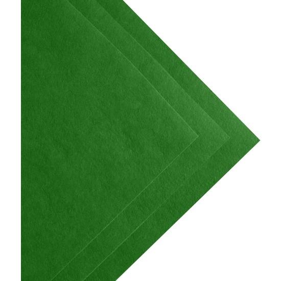 Toptan Keçe Çimen Yeşili Ince Keçe 1 Metre (100X100 Cm), Çimen Yeşili Keçe