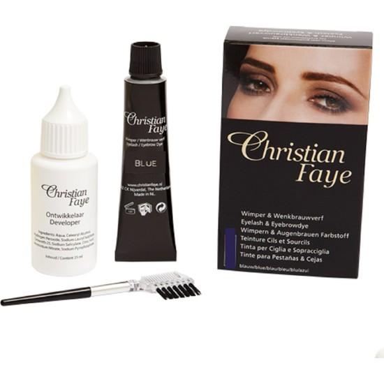 Christian Faye Christian Kaş BoyasıMavi Siyah