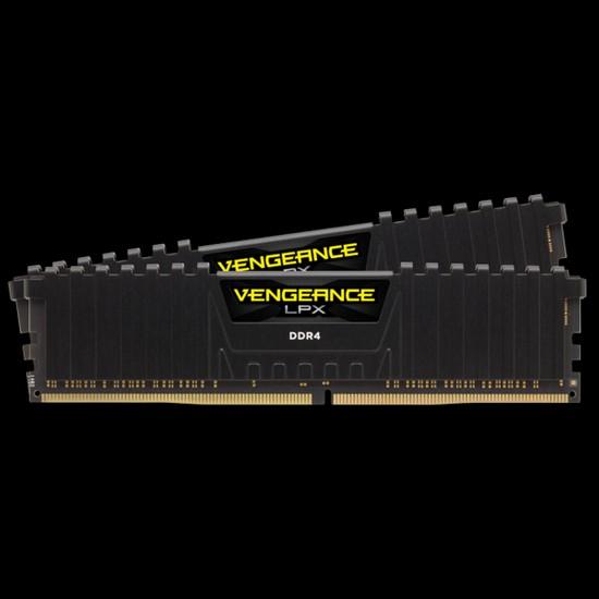 Corsair Vengeance CMK16GX4M2G4000C16 16GB (2x8GB) DDR4 4000MHz CL16 Black LPX Soğutuculu DIMM Bellek