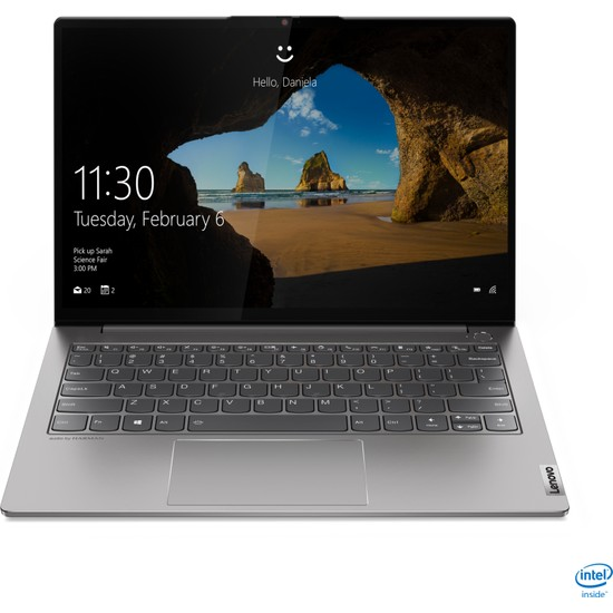 "Lenovo ThinkBook S13 Intel Core i5 10210 8GB 256GB SSD FreeDos 13.3"" FHD Taşınabilir Bilgisayar 20RR001GTX"