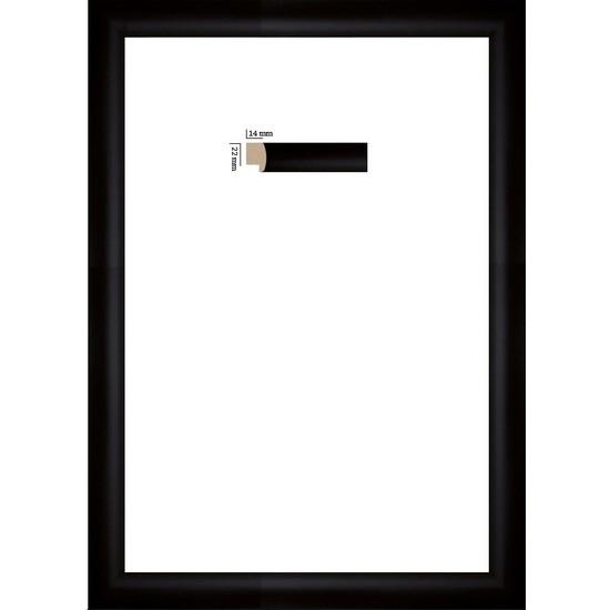 Selçuklu Sanat Puzzle Çerçevesi 22 mm 34 x 48 cm 500'lük Siyah