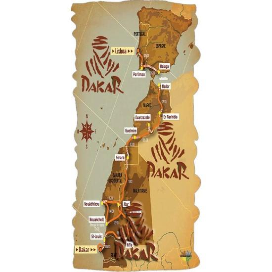 Loco Active Çok Amaçlı Bandana-Dakar