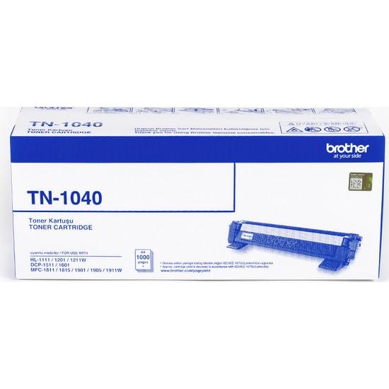 BROTHER TN-1040 Siyah Toner (1000 Sayfa)