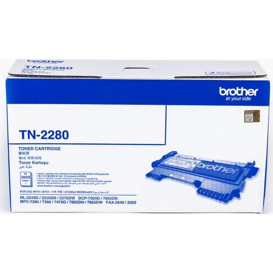 BROTHER TN-2280 Siyah Toner (2600 Sayfa)