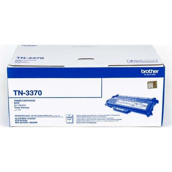 Brother Tn-3370 Brother Hl-6180Dw Dcp-8155Dn Mfc-8910Dw 12000 Sayfa Toner