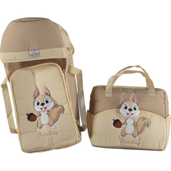 Rain Baby Kabartma Sincap Temalı Ikili Bebek Taşıma Seti