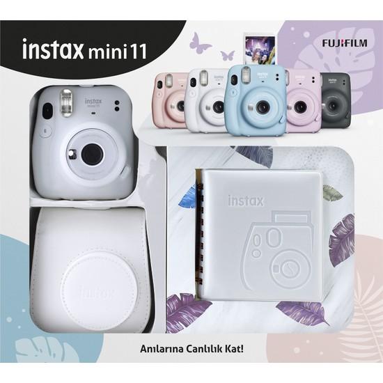 Fujifilm Instax Mini 11 Kare Albümlü Beyaz Kit
