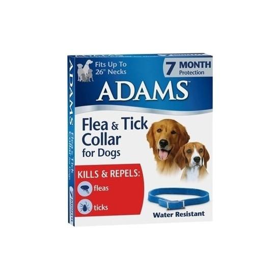 Adams Köpek Pire ve Dış Parazit Kene Tasması 60 cm - 1 Adet