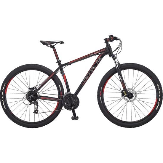 Salcano Ng 333 29HD 19 'dağ Bisikleti Kadro Yeşil Etiket Siyah