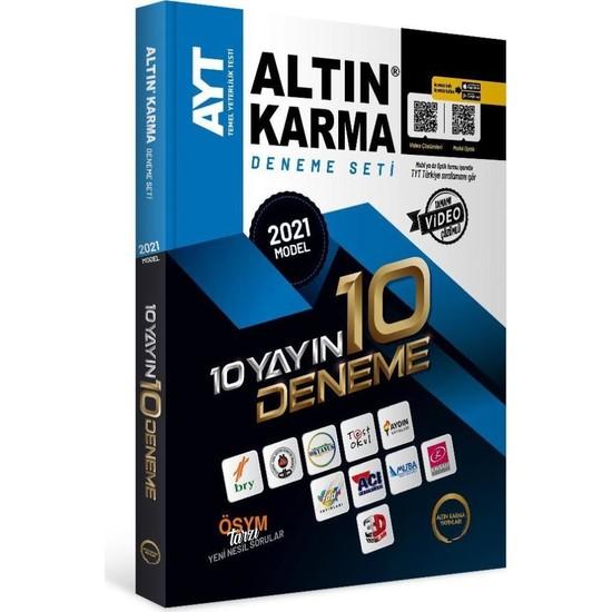 Altın Karma Yayınları 2021 AYT 10 Farklı Yayın 10 Deneme Seti Ekitap İndir | PDF | ePub | Mobi