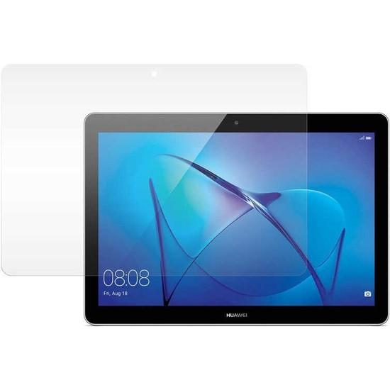 "Fibaks Huawei Mediapad T5 10.1"" Ekran Koruyucu Nano Esnek Flexible 9h Micro Temperli Kırılmaz Cam"