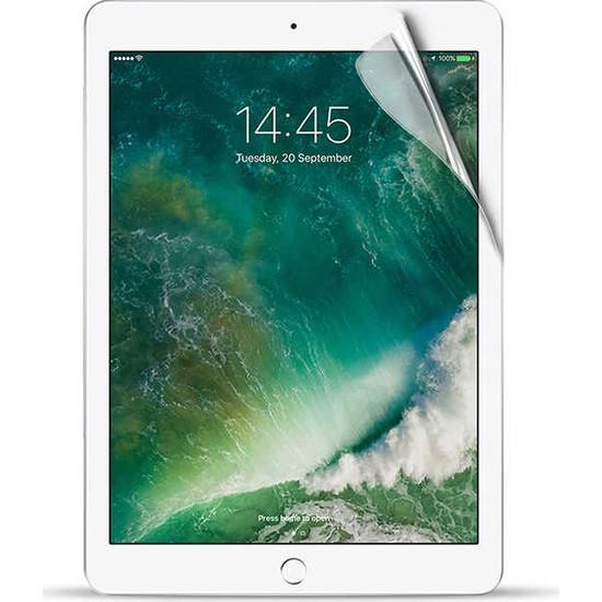 """Fibaks Apple iPad 6. Nesil (2018) 9.7"""" Ekran Koruyucu Nano Esnek Flexible 9h Micro Temperli Kırılmaz Cam"""