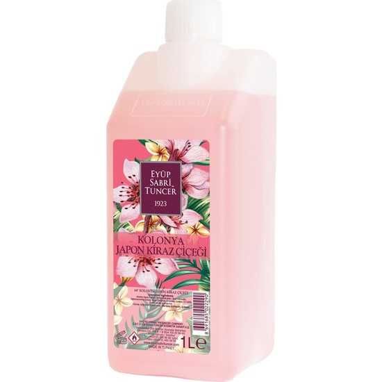 Eyüp Sabri Tuncer Japon Kiraz Çiçeği Kolonyası 1 lt