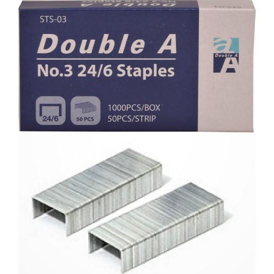 Double A Zımba Teli 24/6 No:3