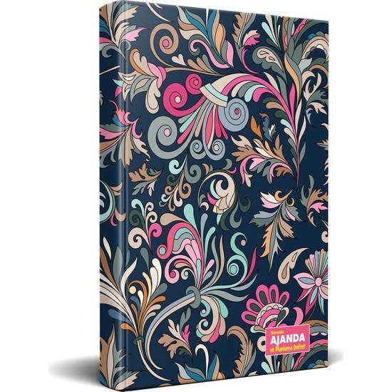 Halk Kitabevi Çiçek Masalı Süresiz Ajanda ve Planlama Defteri 13,5 x 19,5 cm